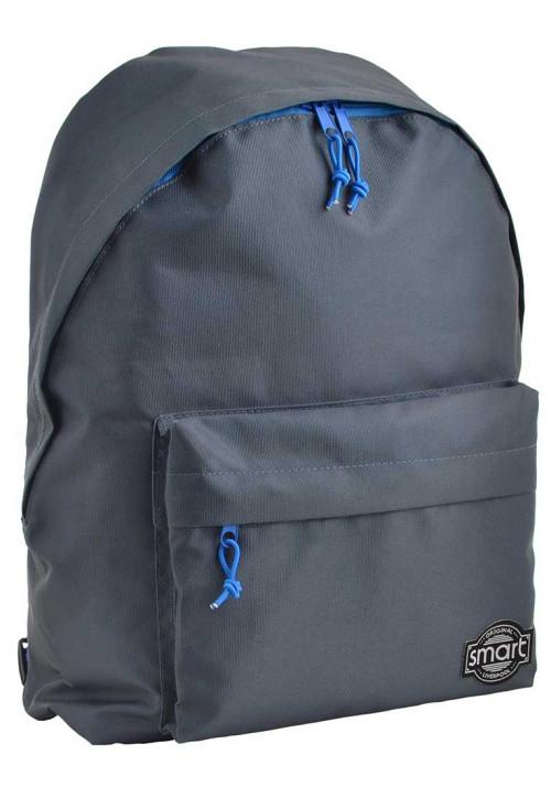 Темно-серый городской рюкзак SMART ST-29 Steel Blue