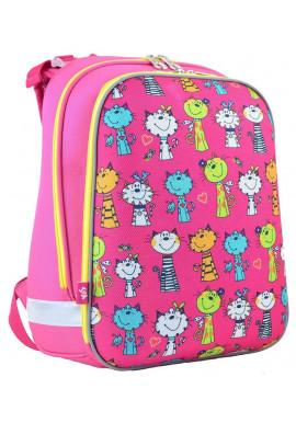 Фото Школьный рюкзак с жестким каркасом для девочки YES H-12 Kotomaniya Rose