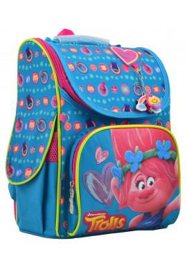 "Фото Голубой рюкзак для девочки ""1 Вересня"" H-11 Trolls Turquoise"