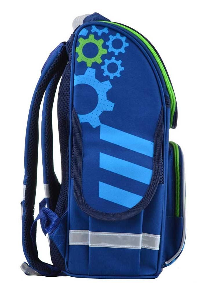e28f990e163c Синий стильный школьный рюкзак SMART PG-11 Mechanic, фото №2 - интернет  магазин ...