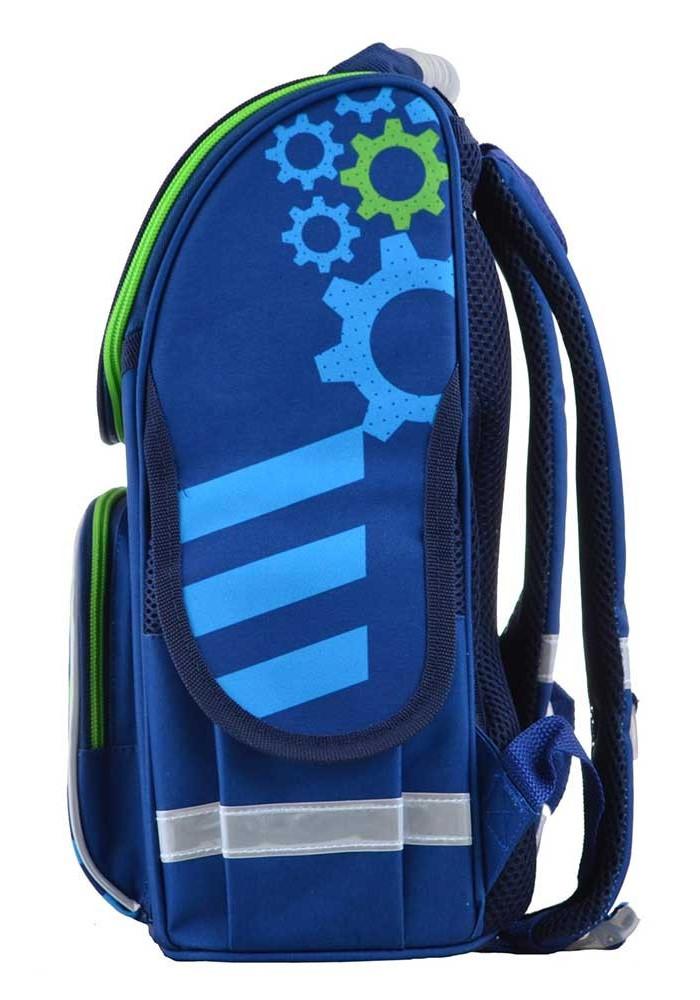 499e589f5e14 ... Синий стильный школьный рюкзак SMART PG-11 Mechanic, фото №3 - интернет  магазин ...
