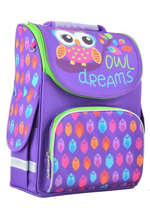 Фиолетовый рюкзак для школы SMART PG-11 Owl