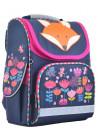 Синий каркасный рюкзак для школы YES H-11 Fox