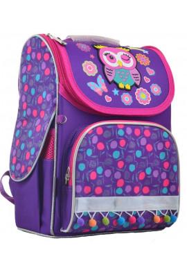 Фото Жесткий фиолетовый школьный рюкзак YES H-11 Owl