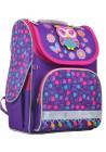 Жесткий фиолетовый школьный рюкзак YES H-11 Owl
