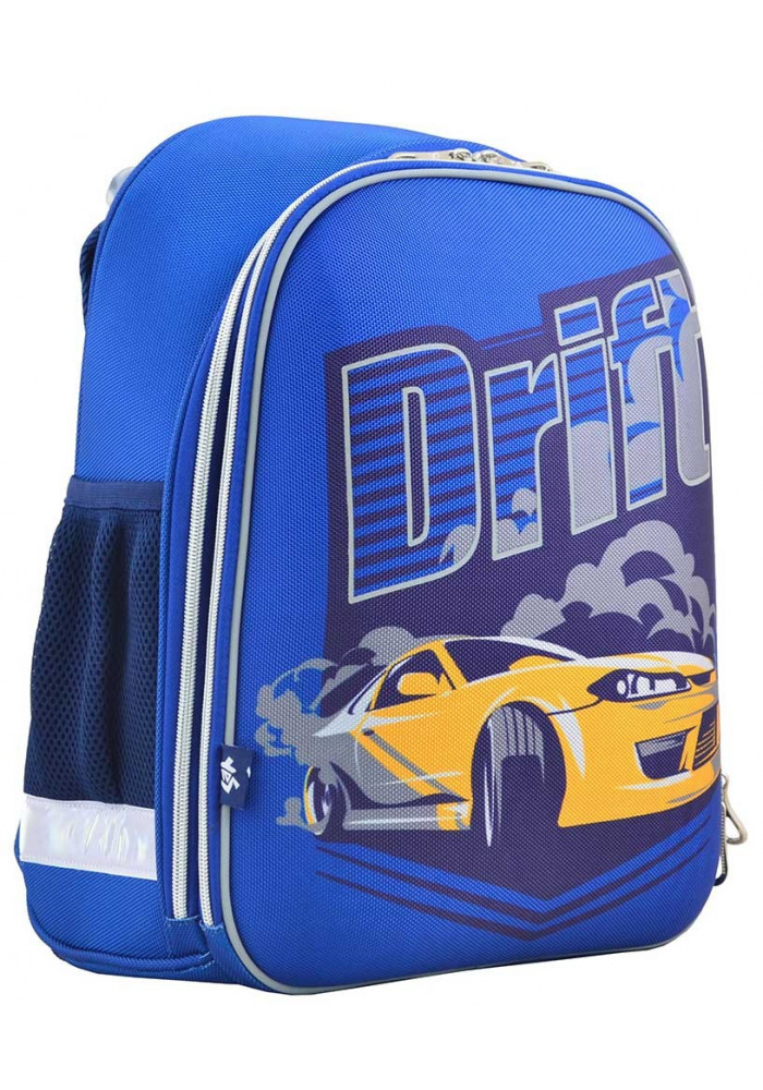 """Рюкзак для школы синего цвета """"1 Вересня"""" H-12-2 Drift"""
