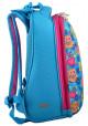 """Рюкзак для школы бирюзового цвета """"1 Вересня"""" H-12-1 Owl, фото №2 - интернет магазин stunner.com.ua"""
