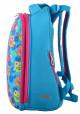 """Рюкзак для школы бирюзового цвета """"1 Вересня"""" H-12-1 Owl, фото №3 - интернет магазин stunner.com.ua"""