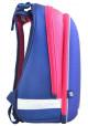 Жестко-каркасный школьный рюкзак YES H-12 Owl blue, фото №2 - интернет магазин stunner.com.ua