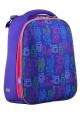 Школьный рюкзак с котами YES H-12-1 Kotomaniya blue - интернет магазин stunner.com.ua