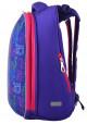Школьный рюкзак с котами YES H-12-1 Kotomaniya blue, фото №3 - интернет магазин stunner.com.ua