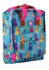 Яркая летняя сумка-рюкзак YES ST-34 Meow