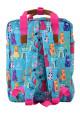 Яркая летняя сумка-рюкзак YES ST-34 Meow, фото №4 - интернет магазин stunner.com.ua