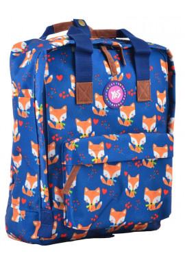 Фото Сумка-рюкзак синего цвета YES ST-34 Sly Fox