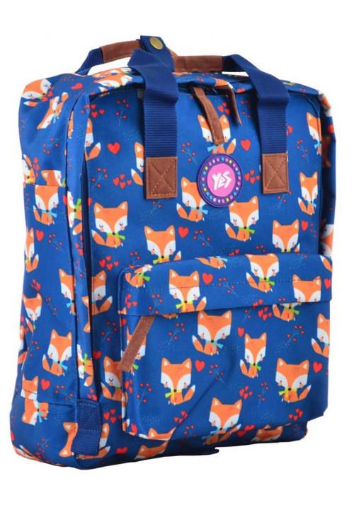 Сумка-рюкзак синего цвета YES ST-34 Sly Fox