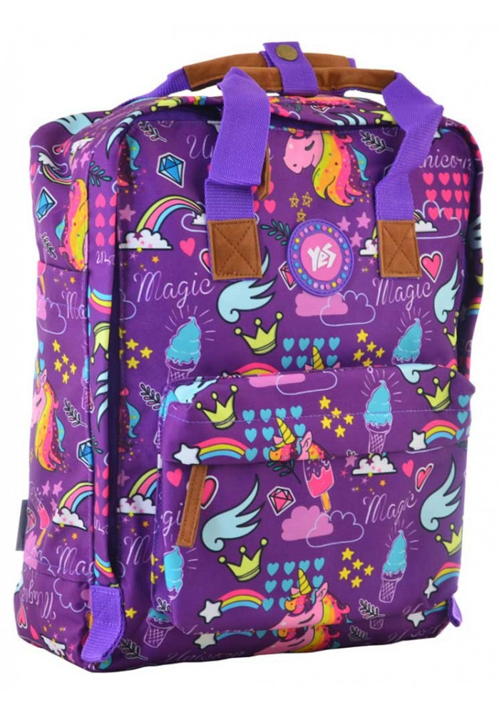 Красивая женская сумка-рюкзак YES ST-34 Unicorn