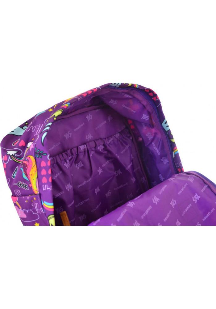 7e3c886f546a ... Красивая женская сумка-рюкзак YES ST-34 Unicorn, фото №5 - интернет