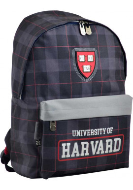 Городской рюкзак в клетку YES SP-15 Harvard black