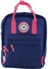 Синий молодежный рюкзак YES ST-27 Midnight blue