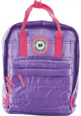 Фото Фиолетовый молодежный рюкзак YES ST-27 Mountain lavender
