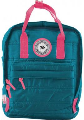 Фото Зеленый молодежный рюкзак YES ST-27 Spanish emerald