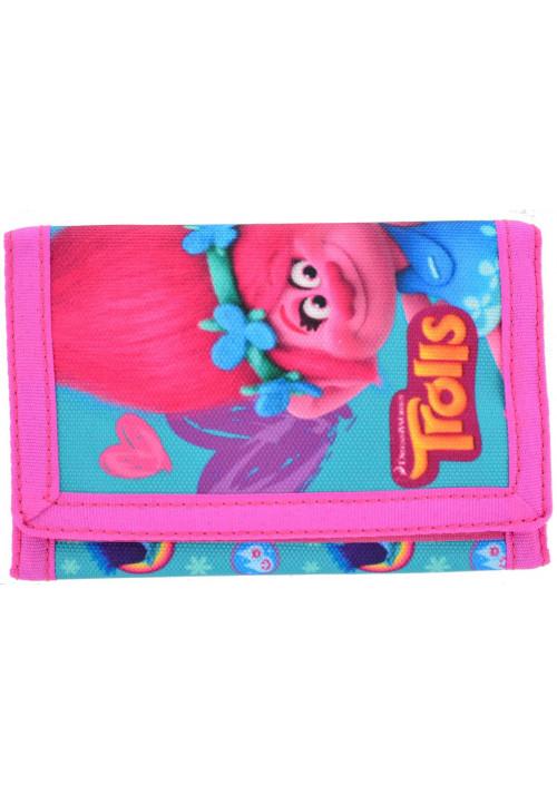 Детский кошелек на липучке 1 Вересня Trolls