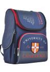 Синий каркасный рюкзак в школу YES H-11 Cambridge