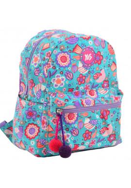 Фото Бирюзовый женский рюкзак из текстиля YES ST-32 Dreamy