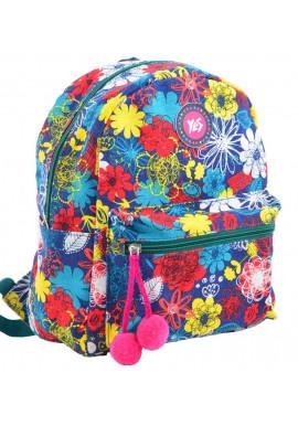 Фото Цветочный женский рюкзак YES ST-32 Frolal