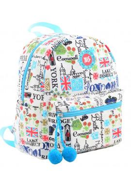 Фото Белый женский рюкзак на лето YES ST-32 Lambent