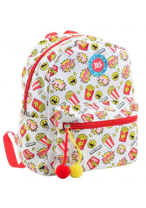 Светлый женский рюкзак YES ST-32 POW