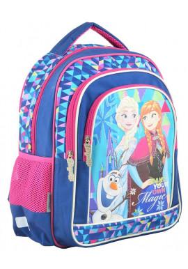 """Фото Школьный рюкзак с героями мультфильма """"1 Вересня"""" S-22 Frozen"""
