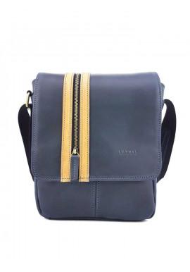 Фото Стильная синяя кожаная сумка Ватто Mk28