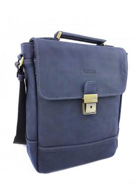 Фото Синяя сумка с портфельной пряжкой Ватто Mk28.2
