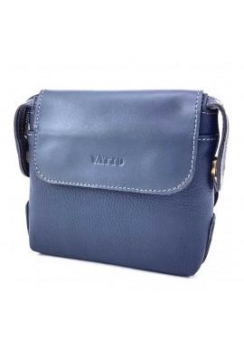 Фото Маленькая кожаная сумочка Ватто Mk19.2 синяя