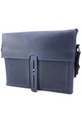 Фото Горизонтальная синяя сумка для документов Ватто Mk6.7