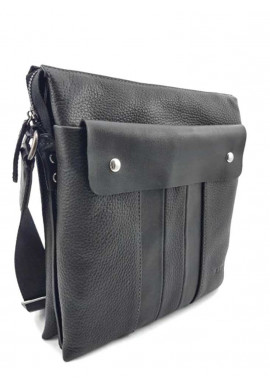 Фото Повседневная мужская кожаная сумка через плечо Ватто Mk 80