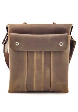Фото Мужская кожаная наплечная сумка Ватто Mk 80