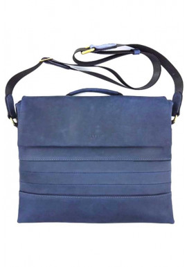 Фото Солидная мужская кожаная сумка на плече Ватто Mk 80.3
