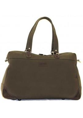 Фото Дорожная сумка из хлопка цвета хаки Vatto B 14