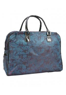 Фото Дорожная текстильная сумка с узором 89200