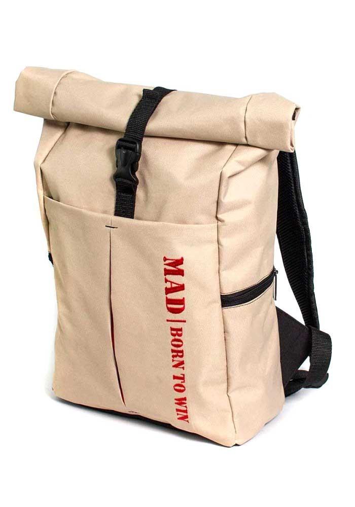 Городской коф-рюкзак TM MAD бежевый