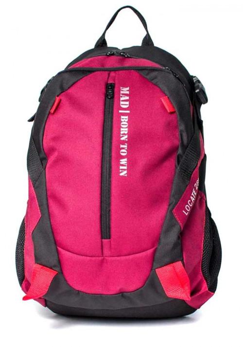 Городской рюкзак Locate TM MAD бордовый