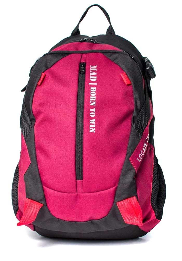 Фото Городской рюкзак Locate TM MAD бордовый