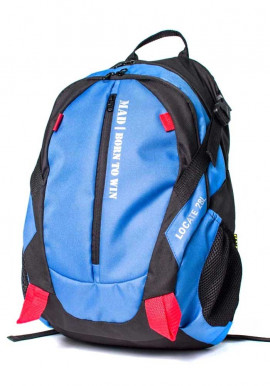 Фото Городской рюкзак Locate TM MAD синий