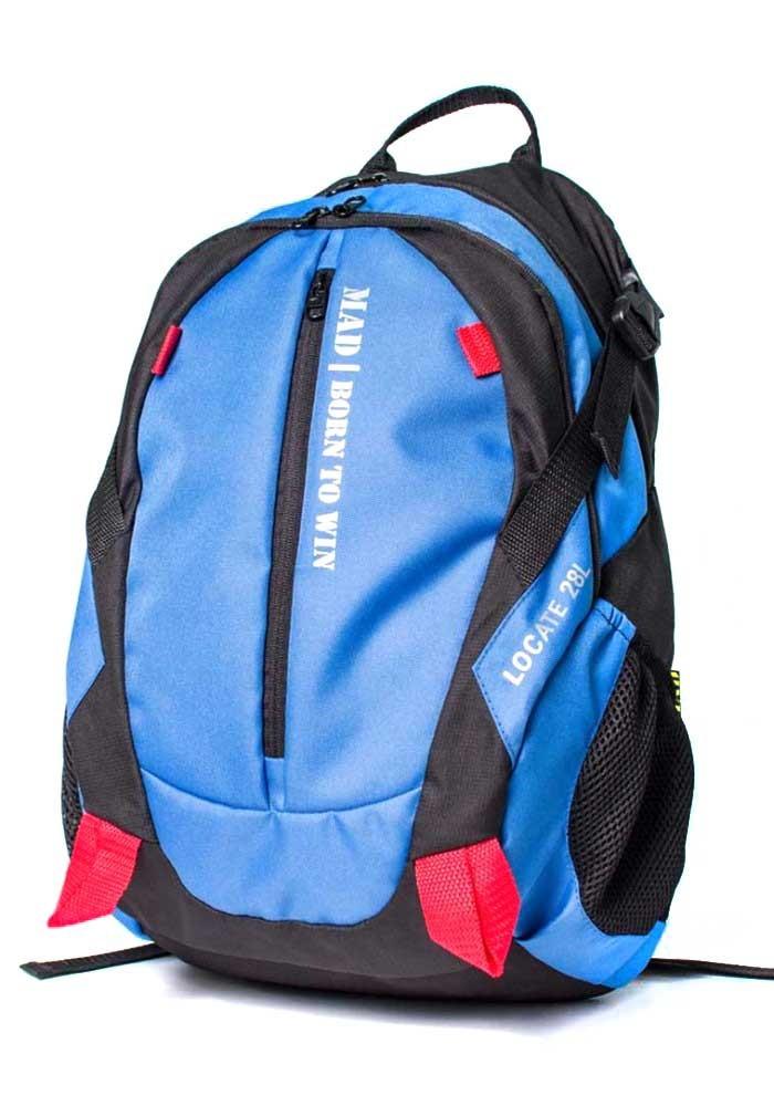 Городской рюкзак Locate TM MAD синий