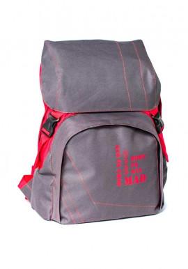 Фото Городской рюкзак Urban TM MAD серо-красный