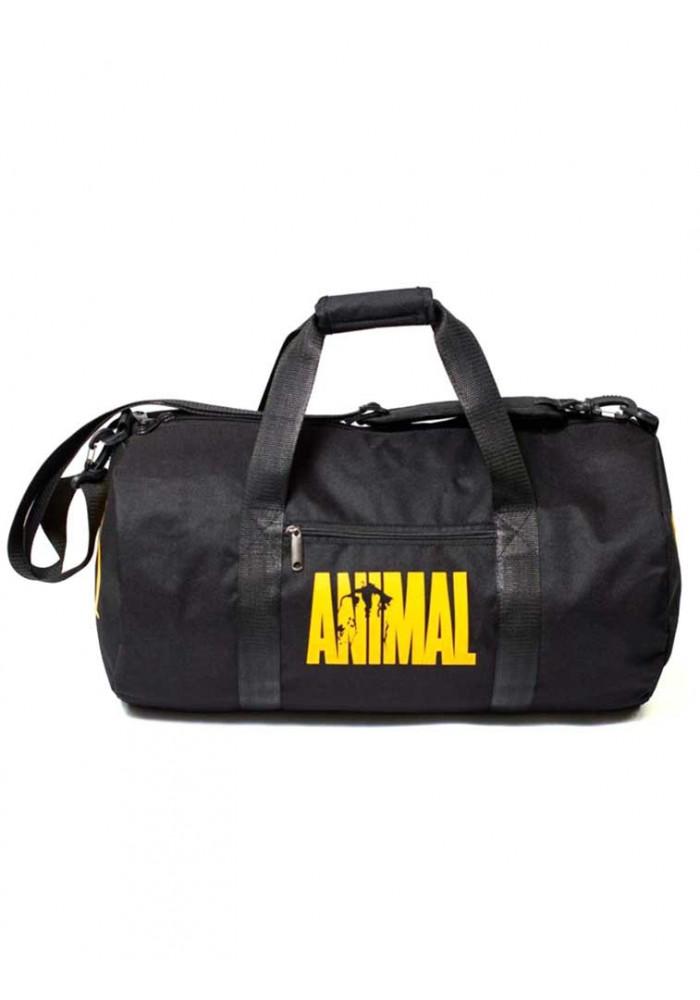 Спортивная мужская сумка черная Animal TM MAD