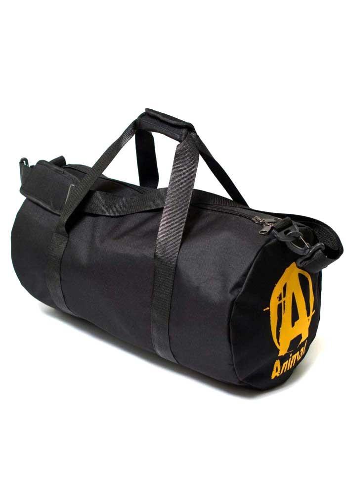 454ae7c9aeb0 ... Спортивная мужская сумка черная Animal TM MAD, фото №2 - интернет  магазин stunner.
