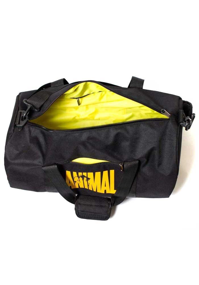 8088409eeeed Спортивная мужская сумка черная Animal TM MAD, фото №6 - интернет магазин  stunner.